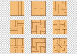 wood floor pattern material design set free vector