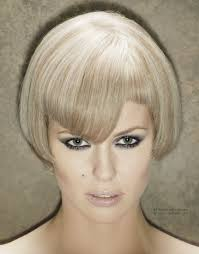 beveled hairstyles for women beveled bob haircut with a notch above the eye