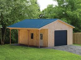 garage plans with porch our portable modular garages are a great way to cut costs without