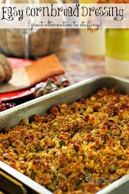 best recipe easy cornbread dressing recipe
