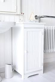Freestanding White Bathroom Furniture White Bathroom Furniture Freestanding Side View Of Freestanding