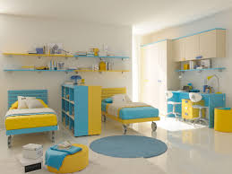 Kids Bedroom Rugs Bedroom Beautiful Blue Yellow Wood Glass Luxury Design Bedroom
