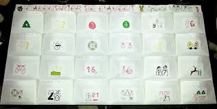 Calendrier De L Avent Fabriquer Un Calendrier De Fabriquer Un Calendrier De L Avent Et Féminine