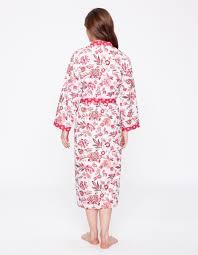 la fiancee du mekong achat en ligne kimono classique imprimé indien blanc la fiancée du mékong