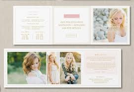 senior photography pricing guide template price list design