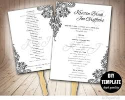 wedding programs diy 291 best wedding templates diy weddings images on