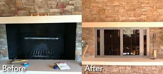 Cleaning Glass On Fireplace Doors by Fireplace Installations Charlottesville Richmond Va Wooden Sun