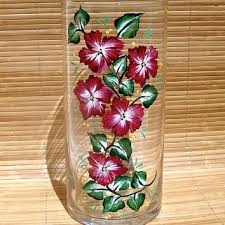 Hand Painted Vase Shop Hand Painted Flower Vases On Wanelo