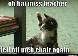 Teacher Lady Meme - monday 5 10 2 15 it s world teacher s day the daily kitten