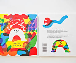 hello wonderful my color is rainbow a playful children u0027s book