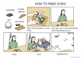 Hot To Make A Meme - how to make sushi asgardian version how to make sushi know your meme