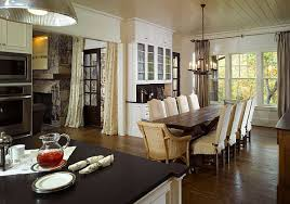 dinning rooms dining room decor idea with glass dining table and