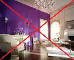 Purple Bedroom Accent Wall - freshen your home for the new year wall paint