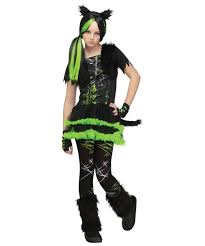 kool kat girls teen costume