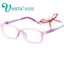 Optical Frame Tagged Glasses Fonex Ivsta 6006 Eyewear Optical Glasses Children Optical Frame
