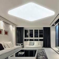 Wohnzimmerlampen Weiss 60w Led Sternenhimmel Deckenleuchte Eckig Wohnzimmerlampe Ip44