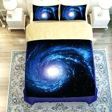 Space Bed Set Space Bed Set Blue Galaxy Themes Bedding Set Galaxy Bed