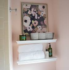 Navy And Green Bathroom Save The Pink Tile U2013 1970s Small Bathroom Makeover Complete