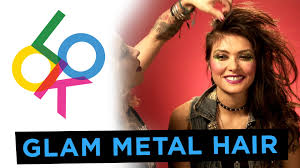 metal hair glam metal hair tutorial w pineda