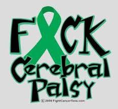 cerebral palsy ribbon cerebral palsy awareness symbol