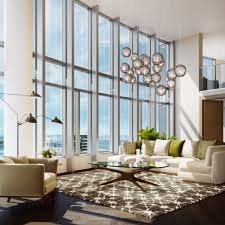 penthouses at san francisco luxe building with 18 foot ceilings