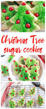 christmas tree sugar cookies here comes the sun