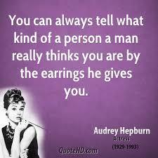 hepburn earrings hepburn quotes quotehd