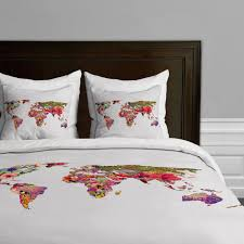 total fab world map themed comforter and bedding sets at