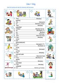 Esl Homonyms Worksheet 361 Free Esl Hobbies Worksheets