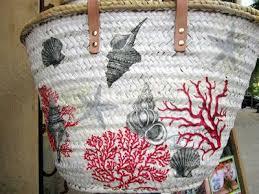 tutorial decoupage en mimbre popurri regalos decoración complementos cestas capazos decoradas