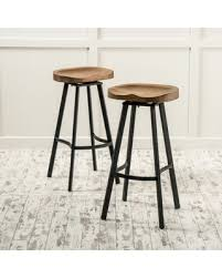 32 Inch Bar Stool Deal Alert Albia 32 Inch Swivel Barstool Set Of 2 By