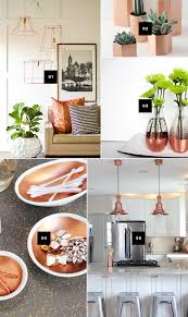 copper decor accents 5 diy ways to add copper accents to your home and a giveaway