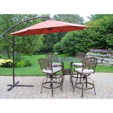 Cast Aluminum Patio Table And Chairs by Oakland Living Hummingbird Mississippi Cast Aluminum Swivel Patio