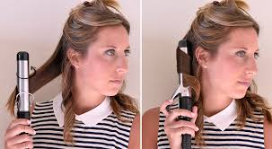 step bu step coil hairstyles how to use a curling iron