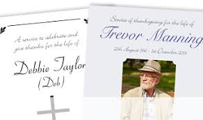Funeral Stationery Print Firpress Printers