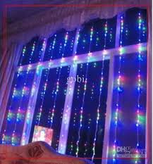 cheap 3 3m 512 led digital curtain waterfall light 16 modes water