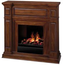 Realistic Electric Fireplace The Most Realistic Electric Fireplace Hammacher Schlemmer