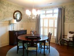 handpainted wallpaper u0026 a gorgeous dining room makeover from a