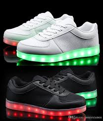 Tokee Led Light Up Shoes That Change Colors For Adults Knit Mesh Led