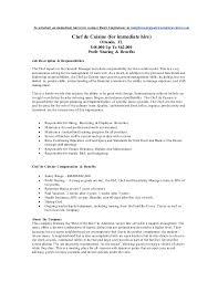 what is a chef de cuisine description now hiring chef de cuisines orlando fl