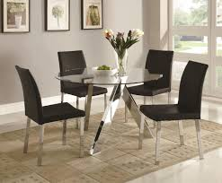 dining room design nice modern table and chairs with futuristic