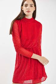 80s sequin roll neck dress topshop