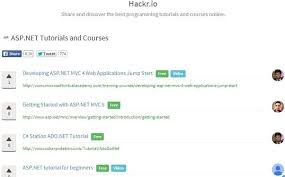 tutorial web c what is best tutorial for asp net quora