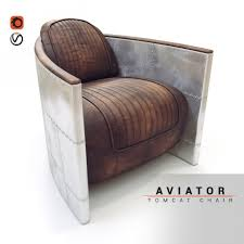 Aviator Armchair Aviator Chair 3d Model Cgstudio