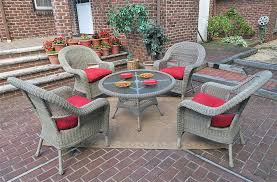 Patio High Table by Malibu Resin Wicker Conversation Set With 24 High Table
