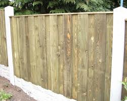 arched board on board 6x4 wooden fencing panel wooden fencing at