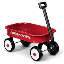 radio flyer little red toy wagon toys