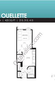 1 Bedroom Condo Floor Plans by Floor Plans Waterstreet Condos 316 Bruyere St Ottawa