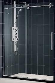 Dreamline Shower Doors Frameless Buy Dreamline Enigma 56 To 60 In Fully Frameless Sliding Shower
