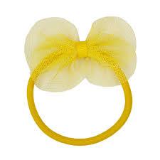 hair elastic hair elastic with mesh bow